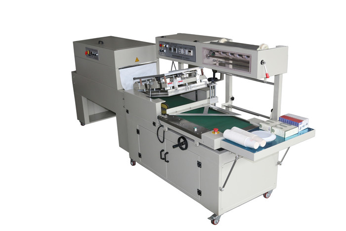 High Speed POF Film Shrink Wrap Machine For Books 15 - 35 Packs / Min